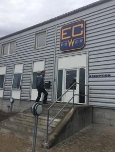 EC power leveranciersbezoek Mini WKK warmtepomp