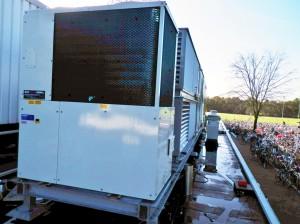 Bonnhoefer College te Enschede klimaatsysteem gas warmtepomp koelen verwarmen