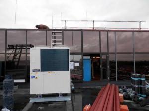 Toshiba Medical Systems te Zoetermeer  klimaatsysteem gas warmtepomp